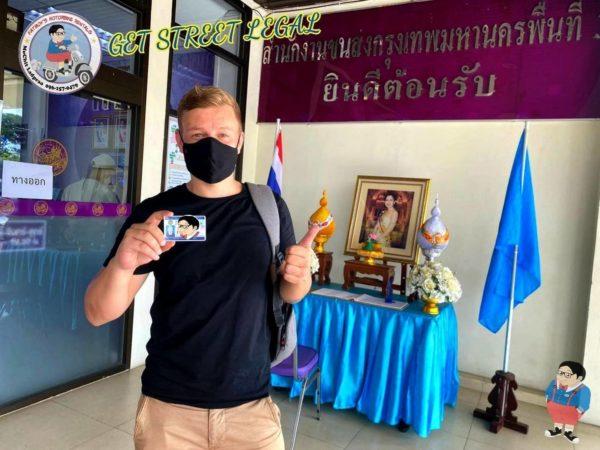 thai drivers license service customer