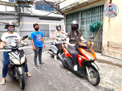 motorbike driving lessons in bangkok