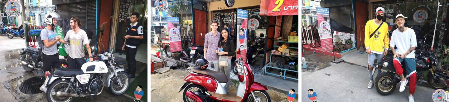 refer a friend monthly motorbike rental promotion