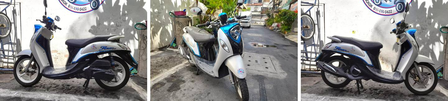 rent a yamaha fino monthly
